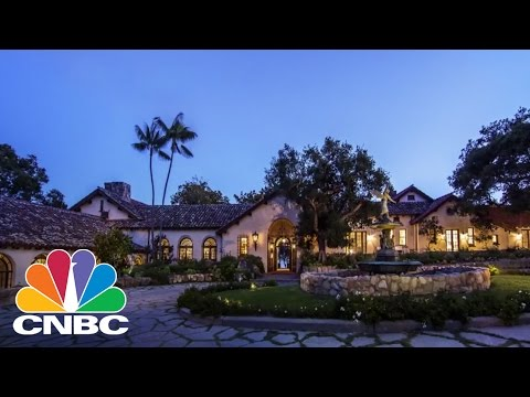 Ford Family Mansion: Santa Barbara, CA | Expensive Homes | CNBC