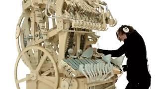 Alat Musik kayu keren menakjubkan (music instrument using 2000 marbles) - Stafaband