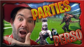 [LIVE/FR]FORTNITE PARTIES PERSO #[JE VEUX LES 1K AVANT 20h]