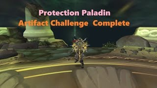 Protection Paladin Artifact Challenge Complete (901ilvl/46traits) | The Highlord's Return