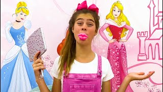 Nastya collection of videos about sweets and candies