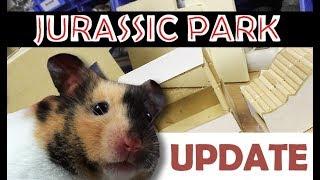 Hamster Einrichtung DIY ♥ Jurassic Park Gehege ♥ Basteln für Nager