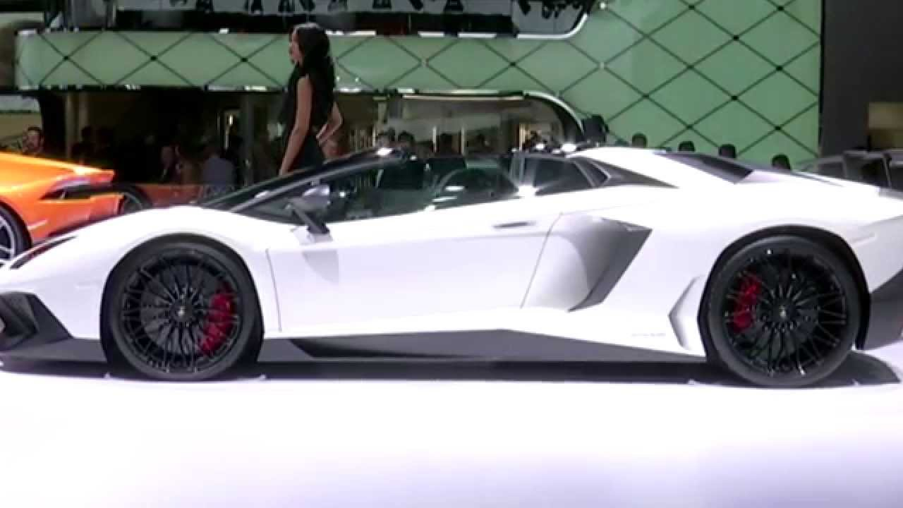 lamborghini aventador sv roadster - Lamborghini Aventador Roadster White
