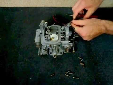 Toyota 22R Carburetor disassembly 1  YouTube