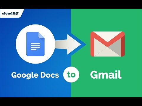 FREE! Create emails in Google Docs without ever losing your formatting
