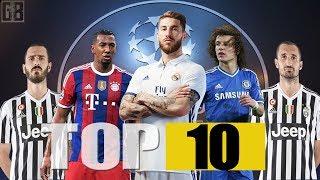 Los 10 Mejores Defensas del Mundo 2017● HD||TOP 10 Best Defenders 2017