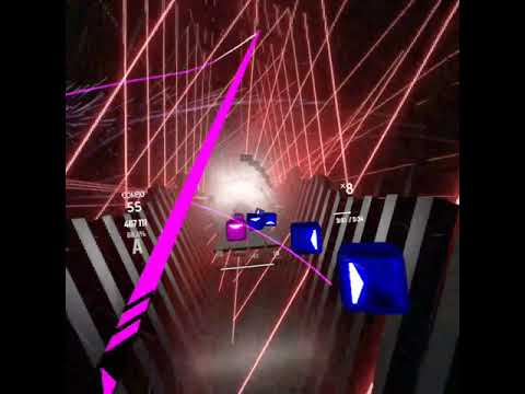 """This Used To Be The Hardest Level In Beat Saber? 