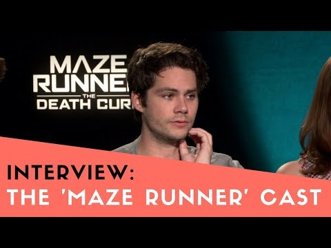 'Maze Runner: The Death Cure' Interview: Dylan O'Brien, Kaya Scodelario, & Co.