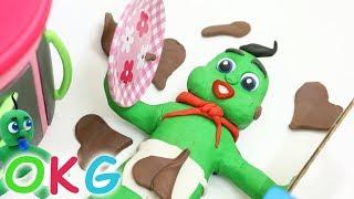 Making Food Stop Motion / Baby Videos & Kids Cartoons / OKG