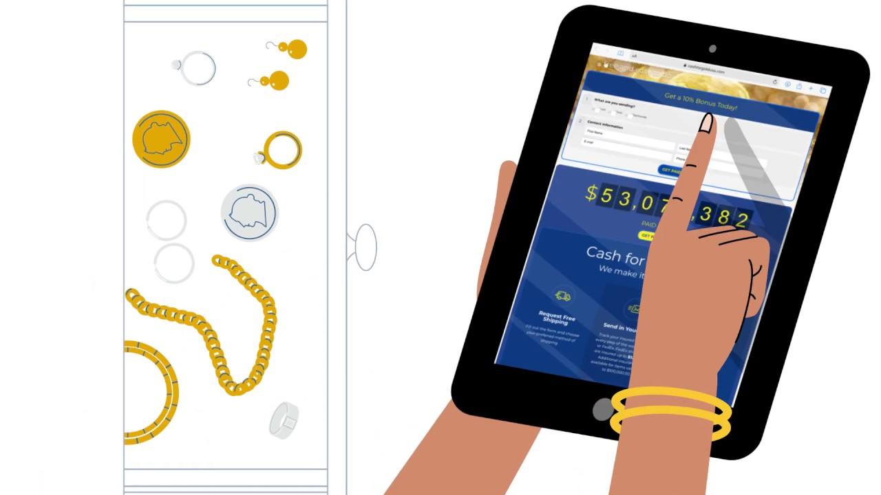 How To Sell Your Gold And Jewelry Online   Cash For Gold ...