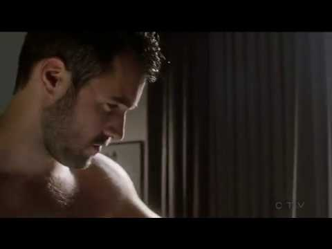Josh Bowman 4 bath towel  Time After Time  drama, SciFi, TV Series
