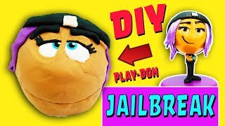 Emoji Movie Drill N Fill Jailbreak DIY Crafts For Kids! Learn Colors Play-Doh How To Video