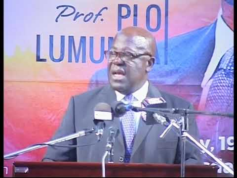 1ST Lecture of Prof. PLO Lumumba AT UCC - Ghana [2016]