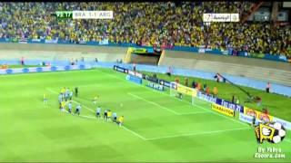 Brazil Vs Argentina 2-1 Neymar Goal - 2012 Superclásico de las Américas