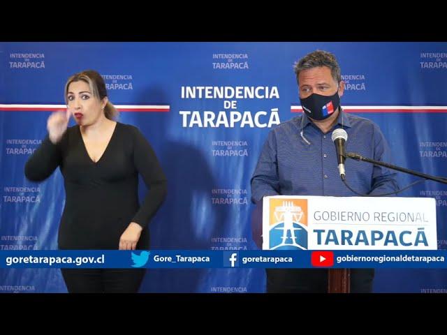 Punto de prensa 23 de septiembre de 2020 - Gobierno Regional de Tarapacá