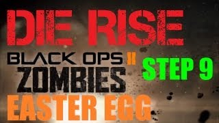 Die Rise Easter Egg Hunt Part 9: Matching the Gold Floor Symbols
