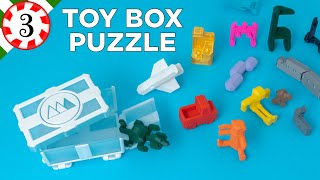 My Tiny Toy Box Puzzle // Puzzle Advent Calendar