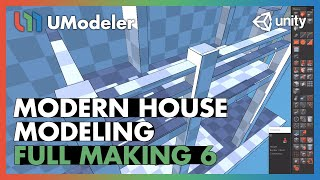 Modern House 6/11 - UModeler Tutorial