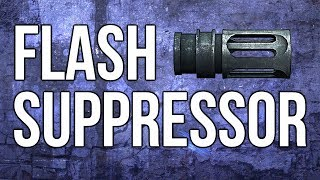 ghosts in depth flash suppressor recoil accuracy testing