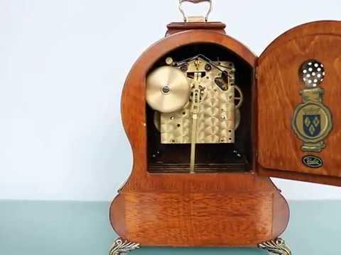 Warmink Wuba Biedemeijer Mantel Top Clock Dutch Vintage