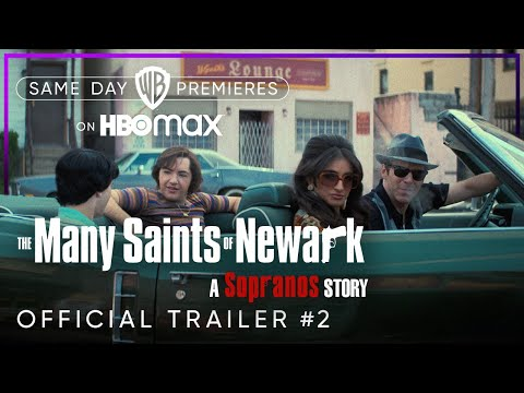 The Many Saints of Newark | Official Trailer #2 | HBO Max