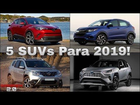 5 SUVs Que Serão Lançados no Brasil em 2019! (Garagem 2.0)