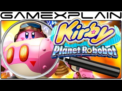 Kirby: Planet Robobot Analysis - Reveal Trailer (Secrets & H