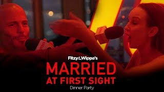 Massive fight @ Married At First Sight dinner party with Fitzy & Wippa