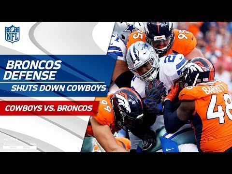 Denver Defense Dominates Zeke & Dak at Home! | Cowboys vs. Broncos | NFL Wk 2 Player Highlights