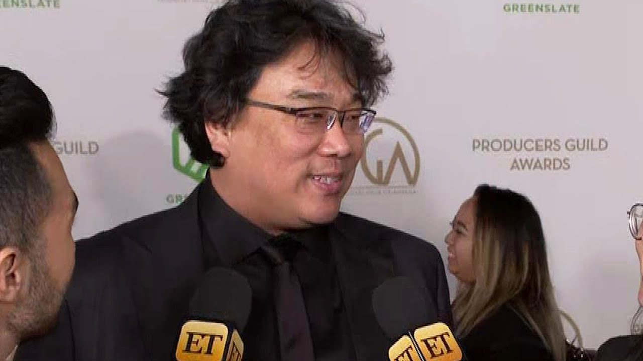 Bong Joon-Ho REVEALS Updates For 'Parasite' TV Series | PGA Awards 2020