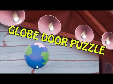 HELLO NEIGHBOR BETA 3 GLOBE DOOR PUZZLE