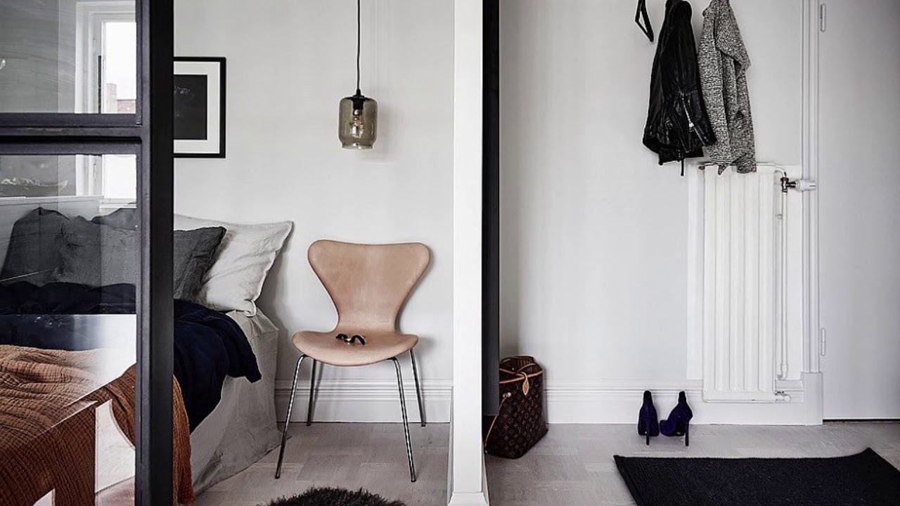 Space Savvy Ways To Decorate A Tiny 26 Square Meter Apartment Inspiring Photos Youtube