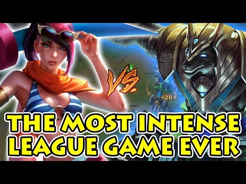 Absolutely Insane Game - This Is Why Full AD Teams are BAD ft. Nasus vs. Fiora [Patch 7.19]