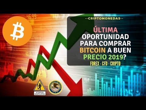 Última oportunidad para comprar Bitcoin a buen precio 2019? JP Morgan ADA NANO BAT ETH BTC 💹