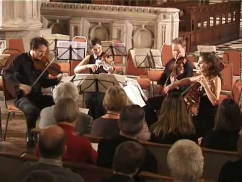Benjamin Britten Three Divertimenti  March  Carducci String Quartet