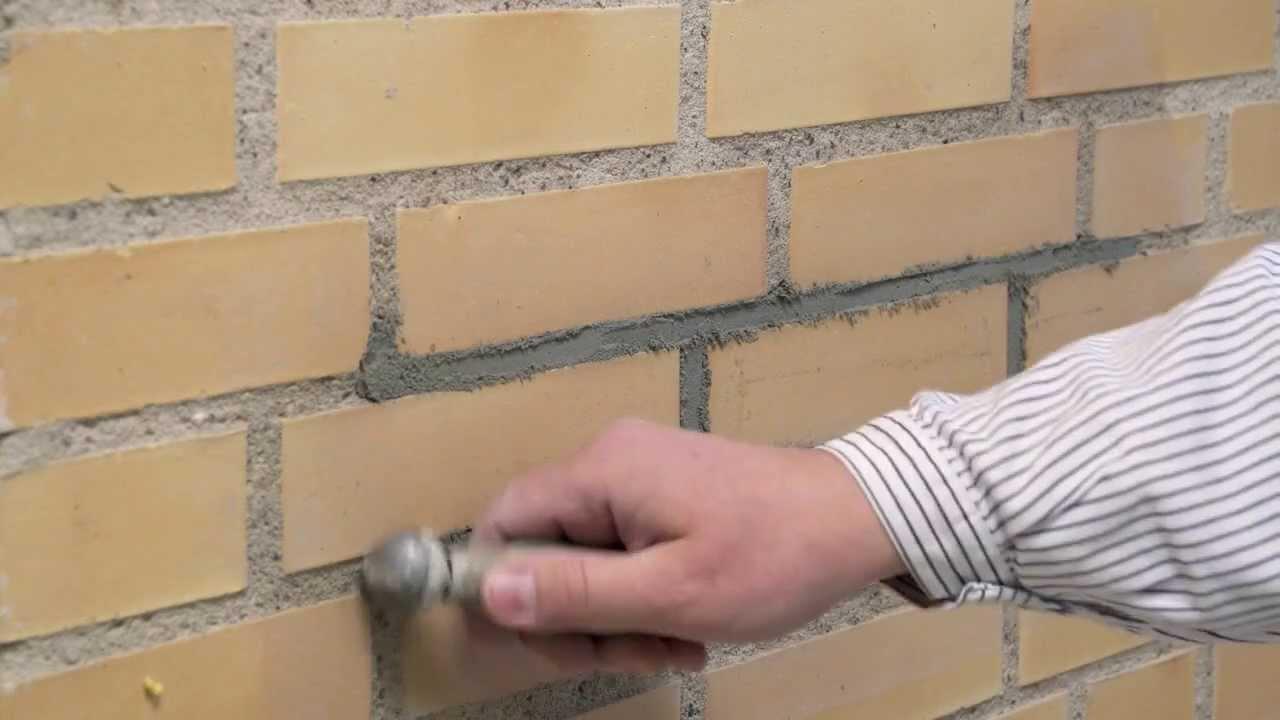 Modernistisk Fugning - Omfugning af mur med weber pudsemørtel - YouTube AH28