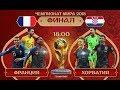 Франция Хорватия Финал Чемпионата мира 2018 FIFA PS4 mp3