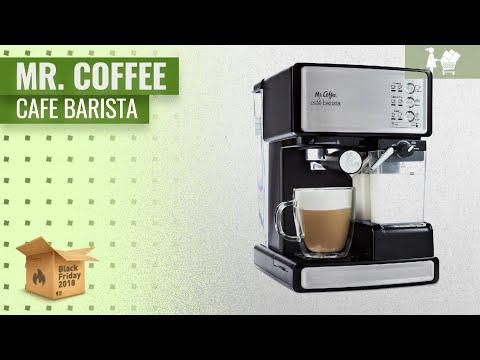 Mr. Coffee Cafe Barista Espresso And Cappuccino Maker | Black Friday / Cyber Monday