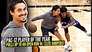 Pac-12 Player of The Year Pulls Up To Open Run & GOES OFF!! Elite Hoopers GO AT IT!