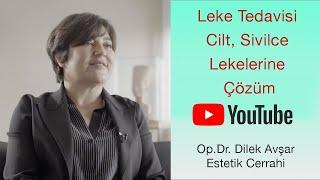 Q Switch | KTP | IPL | FRANSİYONEL Lazer ile Leke Tedavisi |  | Op. Dr. Dilek Avşar #evdekal
