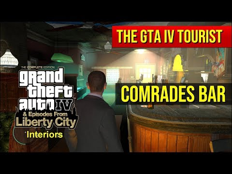The GTA IV Tourist: Comrades Bar