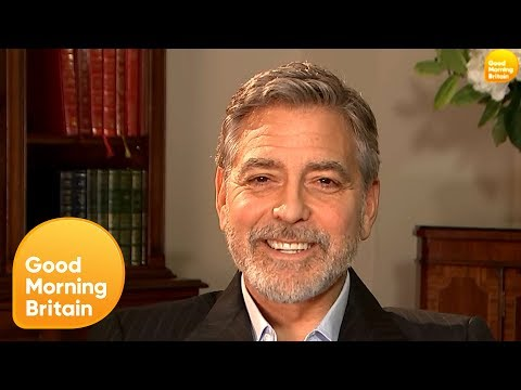 George Clooney on His Human Rights Work, Meghan Markle and Raising Twins | Good Morning Britain