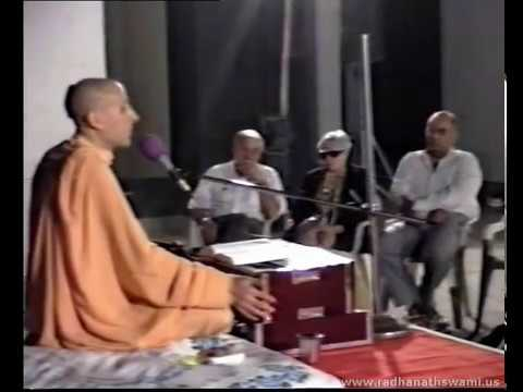 Radhanath Swami with his Parents at Piramal's Residence - Part 03