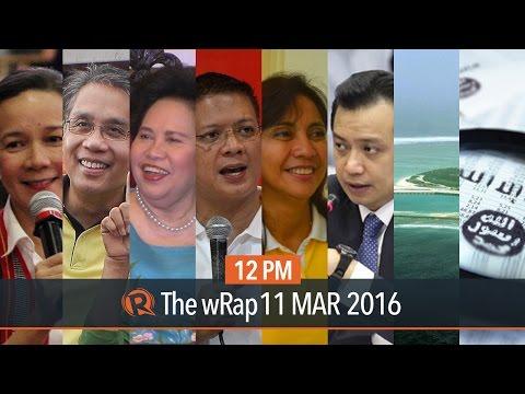 2016 campaign spending, China vs Japan, ISIS leak | 12PM wRap