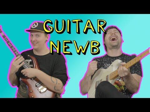 Teaching Guitar To A Beginner