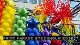 Гей-парад в Стокгольме 2016 (Pride Parade)