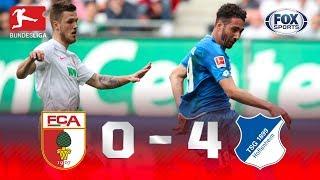 Augsburgo - Hoffenheim [0-4] | GOLES | Jornada 28 | Bundesliga
