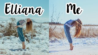Recreating Dance Moms Elliana Walmsley's Instagram Photos!