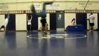 BBoy Airtrack 2000s breakdance