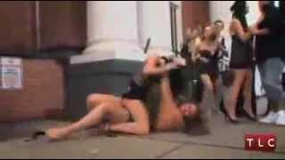 Crazy Bitch fight | Half Naked